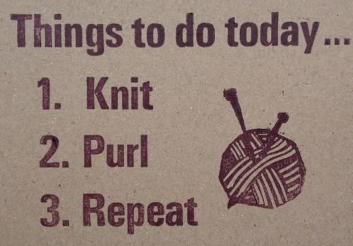 Knit 1, Purl 1