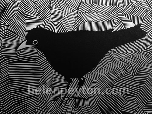 Betty – Linocut