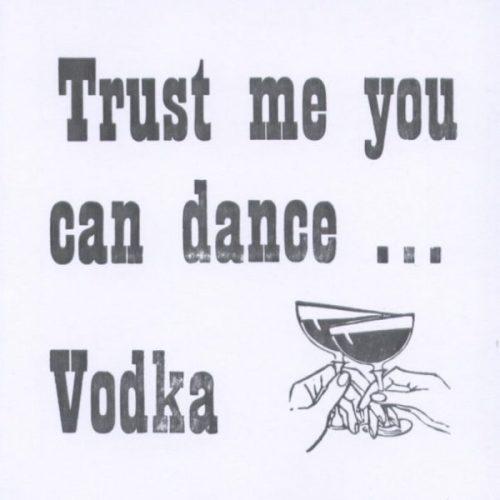 Letterpress Card-Vodka