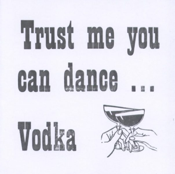 Letterpress Card-Vodka