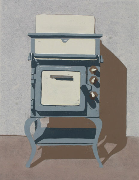 Grey Cooker – A3 Signed Poster