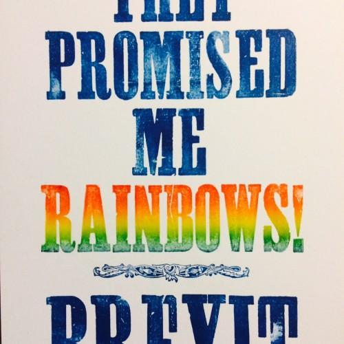 Brexit Rainbows