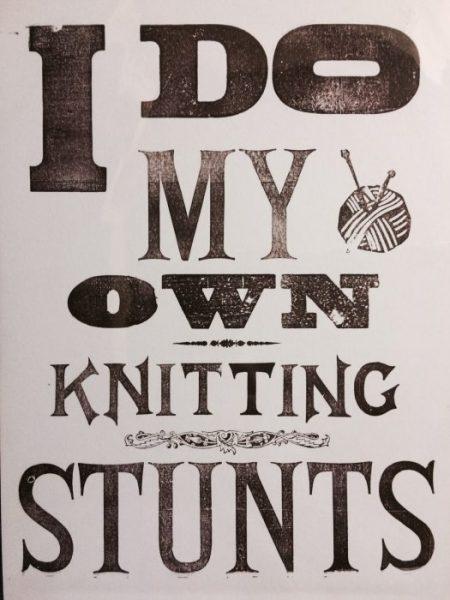 Yarndale Knitter
