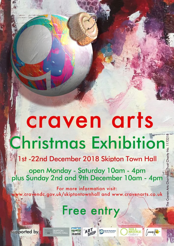 Craven Arts Christmas Exhibition